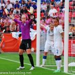 Viertelfinale: England – Frankreich