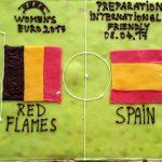 Freundschaftsspiel Belgien – Spanien